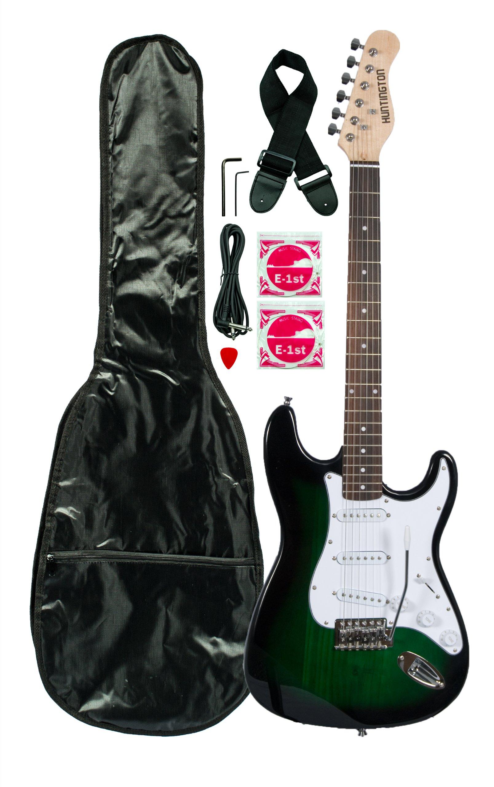 Cheap Huntington GE139-GRS Electric Guitar Pack Greenburst Black Friday & Cyber Monday 2019
