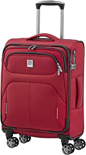 """Titan Nonstop Multifunctional 22"""" Carry On Spinner Luggage, Red, One Size"""
