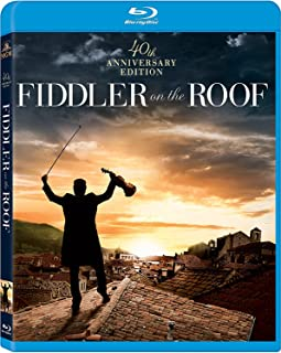 Fiddler On The Roof 40th Anniversary Blu Ray