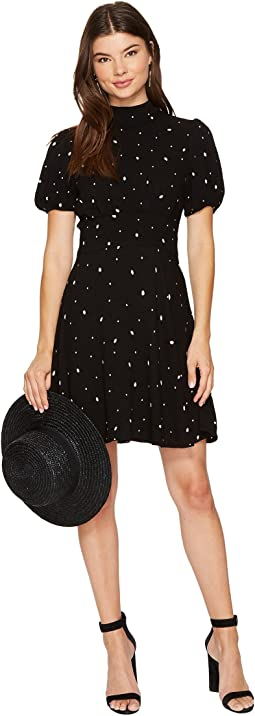 Free People - Abbie Printed Mini Dress