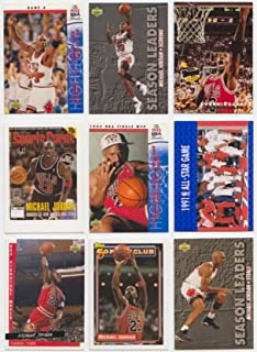Michael Jordan / 50 Different Basketball Cards Featuring Michael Jordan