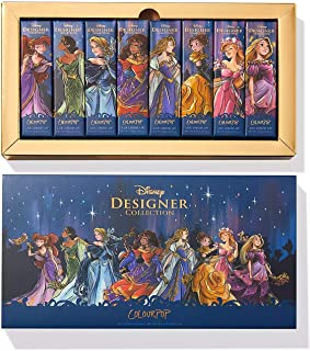 Happily Ever After Disney Designer Collection Midnight Masquerade Series Lux 8 Liquid Lip Bundle by ColourPop
