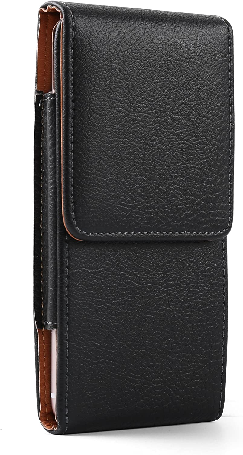 Vertical Phone Holster Pouch for Nokia C1 Plus, C2 Tava, C2 Tennen, 1.3, 2.3, C1, 3.1 A C Plus, 2.2, X71, 9 PureView, 4.2, 2 V, 8.1, 7.1