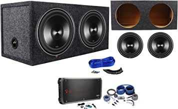 Package: (2) Rockford Fosgate Punch P3D4-12 12