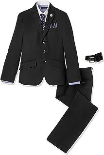 (フォーマルスクール)KIDS FORMAL KIDS FORMAL 男児ネクタイ付き3点スーツ