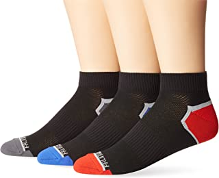 Fruit of the Loom Men's Breathable Half Cushion Ankle 3 Pack
