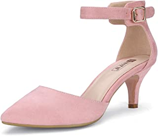 85f0c7f07a Amazon.com: Pink - Pumps / Shoes: Clothing, Shoes & Jewelry