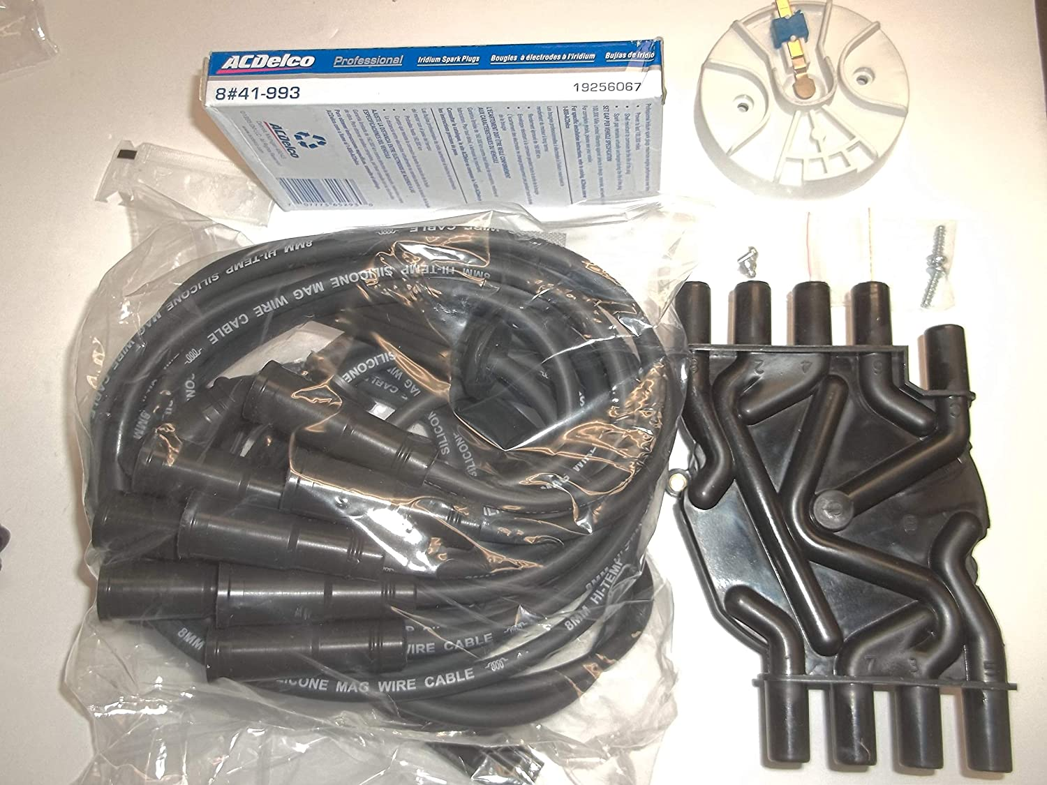 Distributor Outstanding Cap Rotor Spark Plug Ranking TOP6 Wires 41-993 Delco AC Plu and