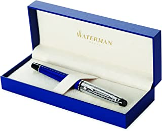 Waterman Expert Deluxe Blue, Fountain Pen with Fine nib and Blue ink (1904580)