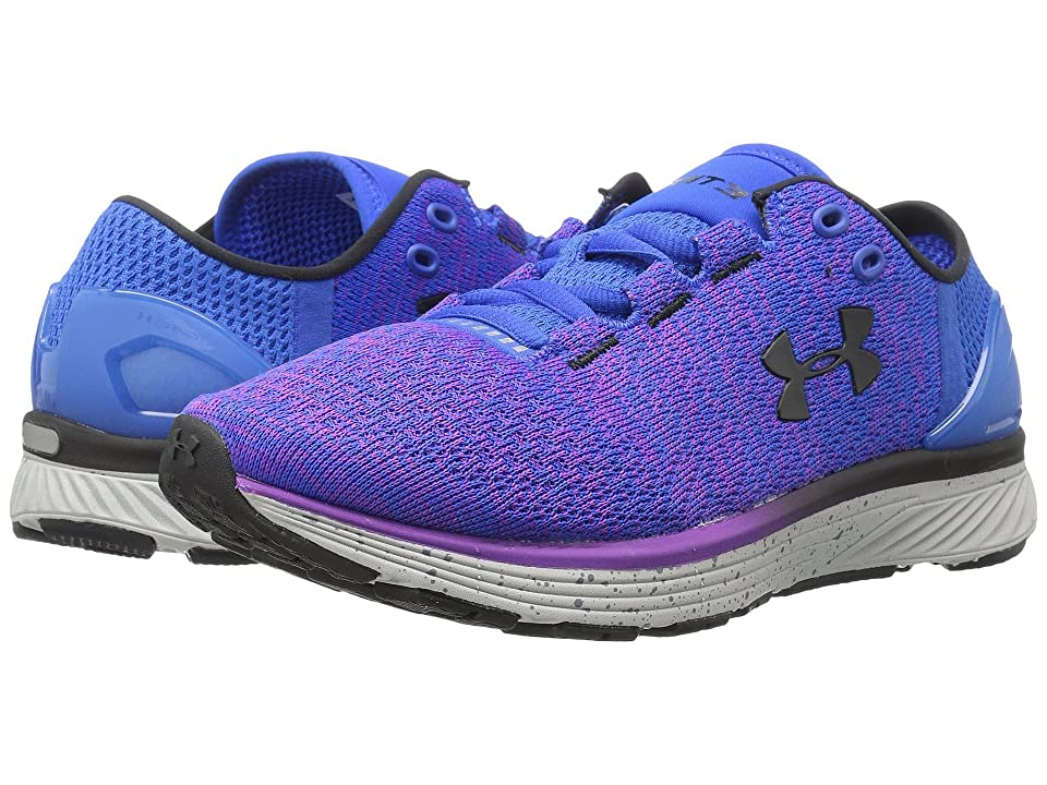 Under Armour Charged Bandit 3 (Ultra Blue Purple Rave Black) Women s Running  Shoes 2188c850649