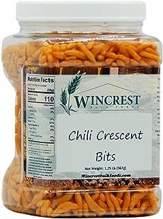 Chili Crescent Bites - Rice Crackers - Snack Mix - 1.25 Lb Tub