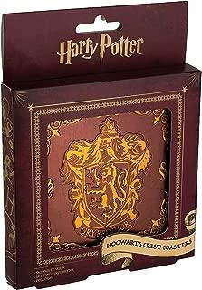 Harry Potter Hogwarts Crest Drink Coasters - Premium Metal Coaster - Hogwarts House Crests