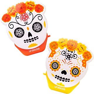 Flavored Lip Balm: Inspired by Halloween & Day of The Dead, This Duo of Sugar Skull Pumpkin Brulee & pan Dulce-Flavored flip balms Honors The Season While Keeping Your Lips Soft & moisturized.