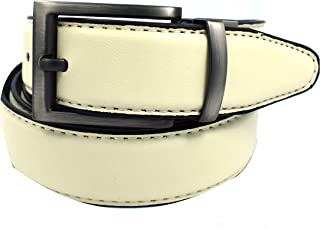 """Men's Reversible Leather Belt 1.1/8"""" wide (Big & Tall Available)"""