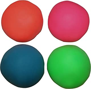 Assorted Colors Pull And Stretch Bounce Ball 4 Fun Stress Balls
