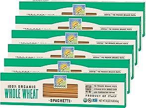 Bionaturae Spaghetti Whole Wheat Pasta | Whole Wheat Spaghetti Pasta | Non-GMO | Kosher | USDA Certified Organic | Made in...