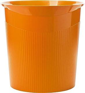 HAN Corbeille à papier HAN Loop, 13L, design moderne, rond, Trend Colour Orange