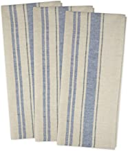 DII Cotton Oversized French Stripe Dish Towels, 20 x 30