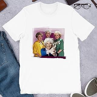 Golden Girls Thug Life Bea Arthur Dorothy Zbornak Estelle Getty Movie Film Graphic Gift for Men Women Girls Unisex T-Shirt