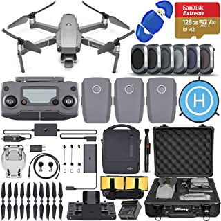 DJI Mavic 2 Pro Drone Quadcopter with Hasselblad Camera, Fly More Combo, 3 Batteries, 6 Piece Filter Kit, SanDisk 128gb Me...