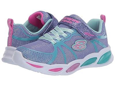 SKECHERS KIDS Sport Lighted Shimmer Beams 302042L (Little Kid/Big Kid) (Periwinkle/Multi) Girl