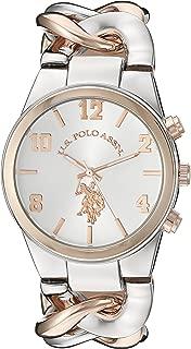 Women's USC40176 Analog Display Analog Quartz Two Tone Watch