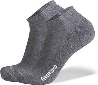 SANGIACOMO WE LOVE SOCKS Confezione da 6 paia di Calze corte in Cotone con Soletta in Microspugna