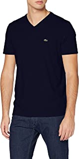 Lacoste V-neck Pima Cotton Jersey T-shirt for Men in