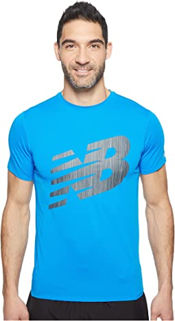 Accelerate Short Sleeve Graphic Top
