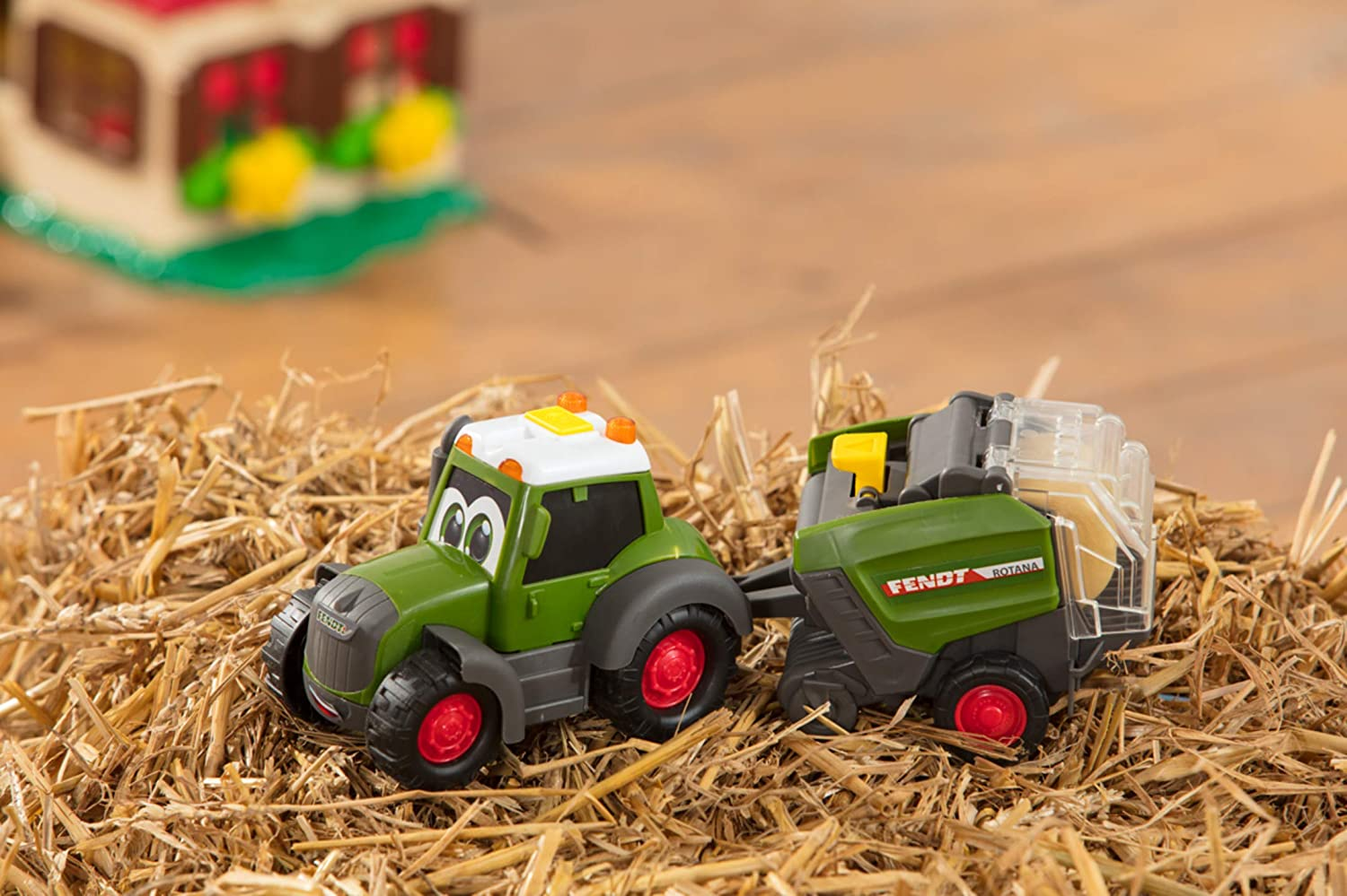 Farm Toy Tractor for Children from 1 Year 30 cm Dickie Toys Happy ...