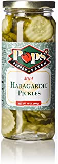 Pops Pepper Patch Spicy Sweet Dill Pickle Chip Habanero Habagardil (Mild)