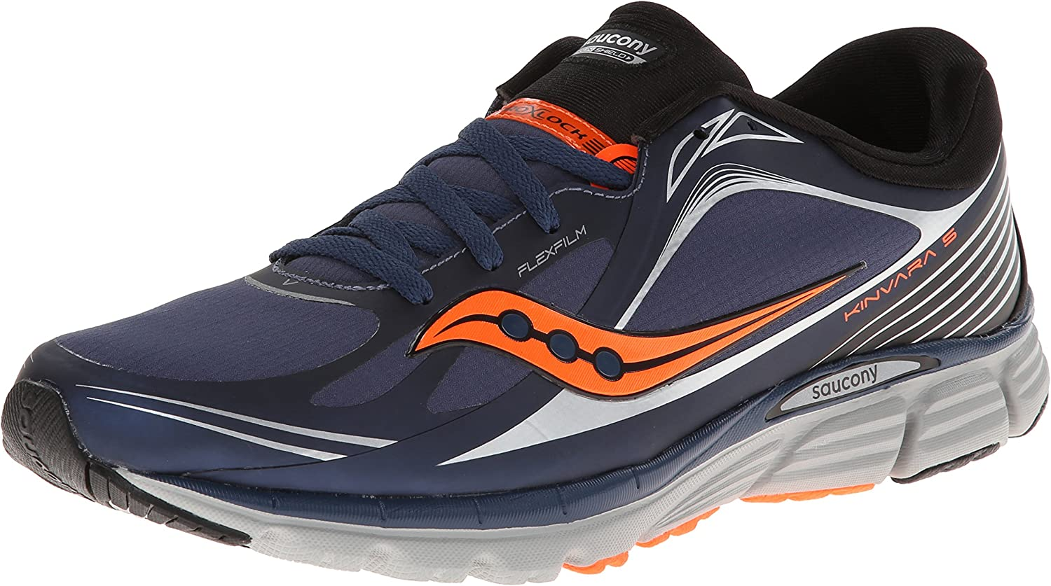 shoes,Navy Running Runshield 5 Kinvara Men's Saucony