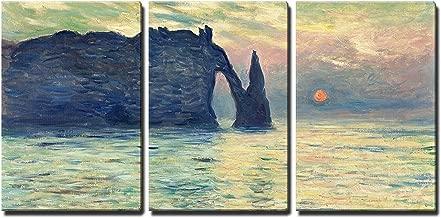Best the cliff etretat sunset by claude monet Reviews