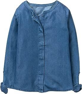 Girls' Little Long Sleeve Chambray Woven Shirt