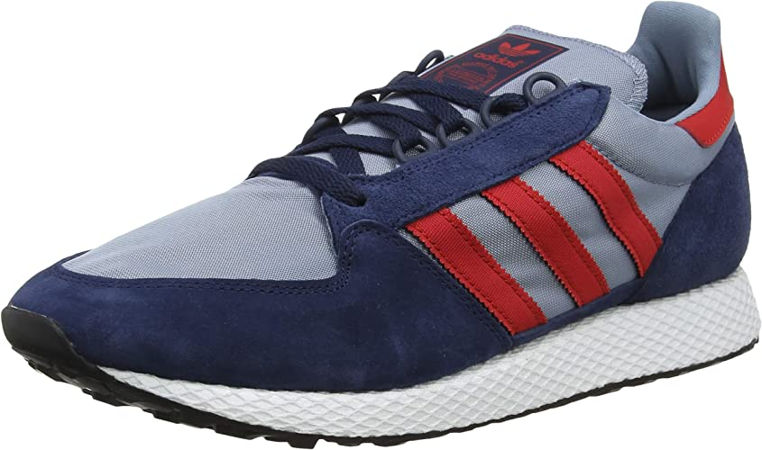 Adidas Forest Grove, Chaussures de Gymnastique Homme