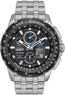 Citizen Men's Limited Edition Promaster Skyhawk A-T Super Titanium Silver Watch