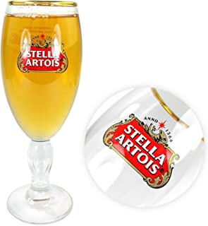TUFF LUV Original Chalice Glass/Glasses/Barware CE Half Pint (284 ml) - Stella Artois