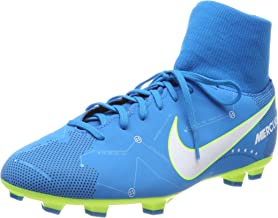NIKE Jr Mercurial Vctry 6 DF NJR FG Soccer Shoes (5 Big Kid M, Blue Orbit/White-Blue Orbit)