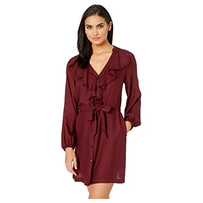 Paige Isabelle Dress (Rumba Red/Black) Women