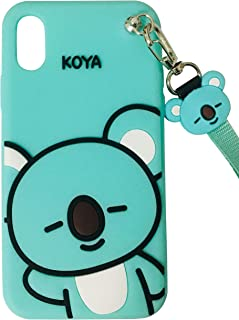 TopFunny Cases for iPhone XR Case Silicone 3D Cute Cartoon Design Soft TPU Slim Fit Rubber Bumper Cover Shockproof Case Compatible with Apple iPhone XR 6.1