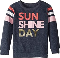 Super Soft Sunshine Day Love Knit Pullover (Toddler/Little Kids)