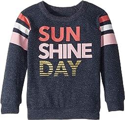 Super Soft Sunshine Day Love Knit Pullover (Toddler/Little Kids)
