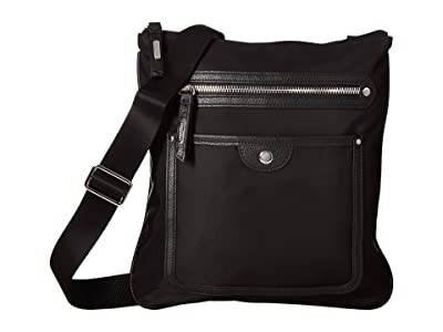 Baggallini Highland Slim Crossbody (Black) Cross Body Handbags