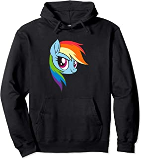 Rainbow Dash My Little Pony Pullover Hoodie