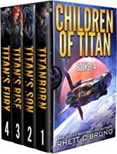Children of Titan Series: Books 1-4: (A Space Opera Thriller Box Set)
