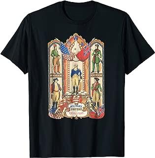 1776 Revolutionary War Shirt revolution Colonial War Uniform
