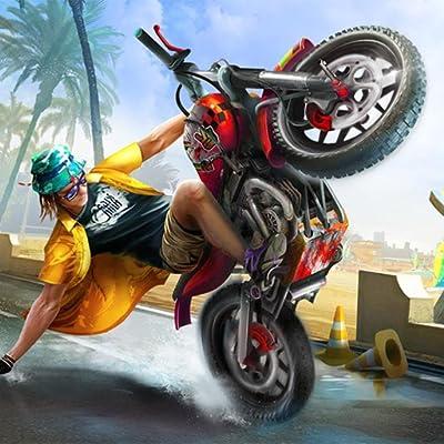 Mega Ramp Crazy Trail Bike Stunt Game 2020