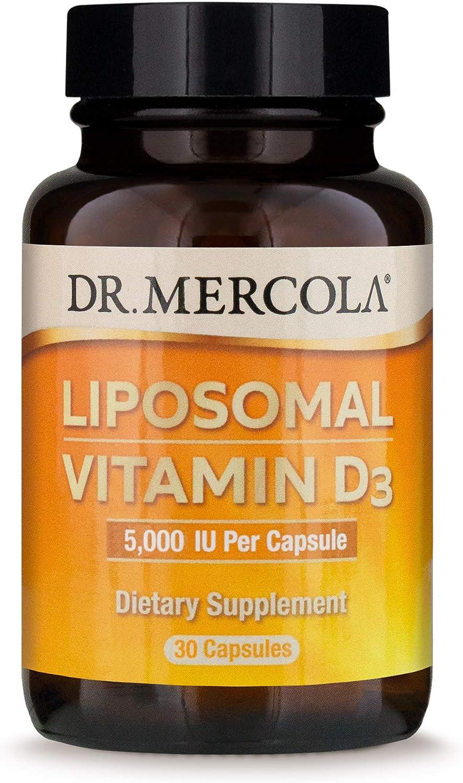 Dr. San Antonio Mall Mercola Liposomal Vitamin shipfree D3 5000 Dietary IU 30 Supplement