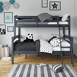 White Wood Bunk Beds Twin Over Twin