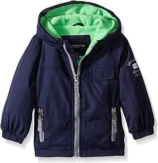 Baby Boys' Fleece Lined Windbreaker Jacket